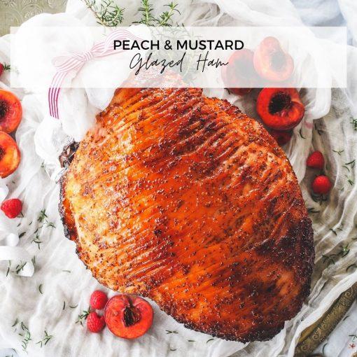 Peach & Mustard Glazed Ham_blog 1000x1000 2020