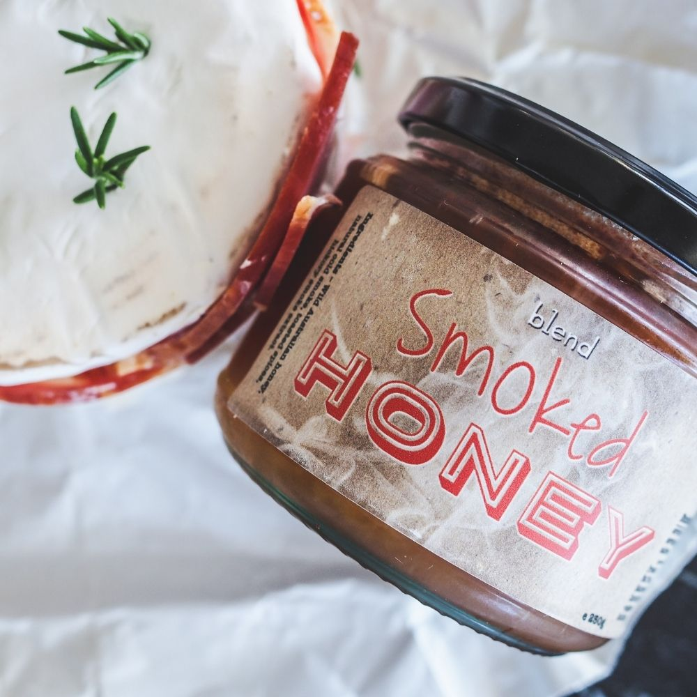 Blend Smoked Honey with Brie