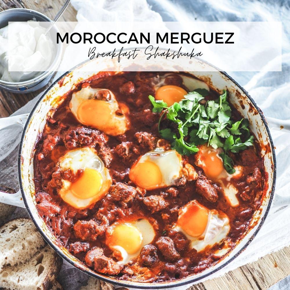 Moroccan Merguez Breakfast Shakshuka