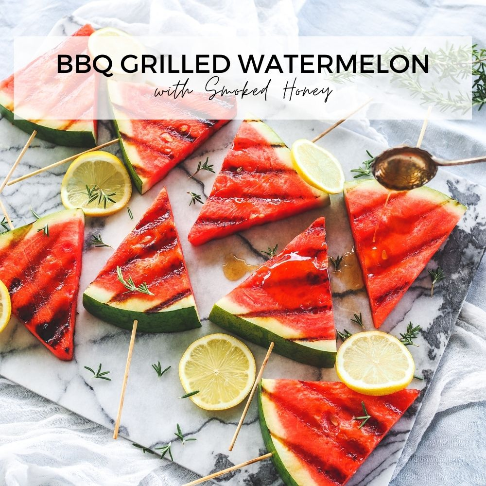BBQ Grilled Watermelon