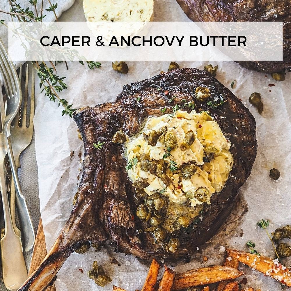 Caper & Anchovy Butter