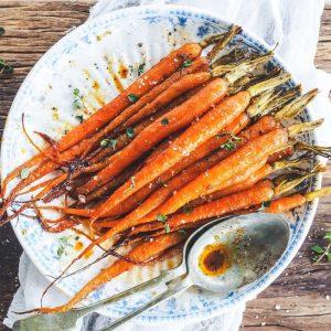 Sweet & Smokey Carrots